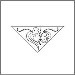 Heart To Heart - Triangle Block #2