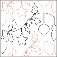 Holly Jolly Christmas - Pantograph