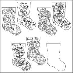 Home for the Holidays - Stocking - Set #3