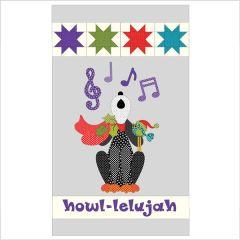 Howl-Lelujah - Quilt - Applique and Pattern Set