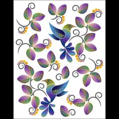 Hummingbird Plumes - Tattoo