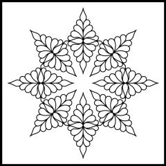 Isosceles Feathers - Block #5