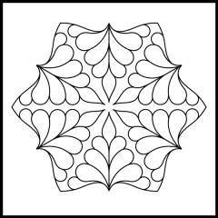 Isosceles Feathers - Block #1