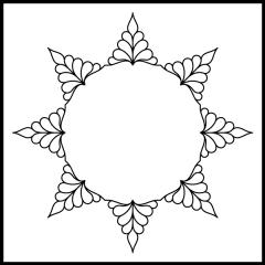 Isosceles Feathers - Block #2
