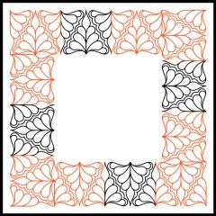 Isosceles Feathers - Panto/Corner Layout