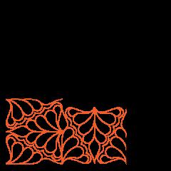 Isosceles Feathers - Corner