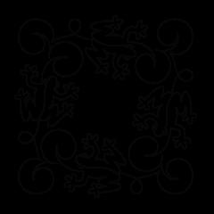 Leap Frog - Block #1 - Stencil