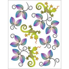 Leaves and Lizardz - Tattoo