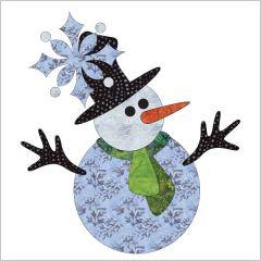 Let It Snow - Block #1 - Applique