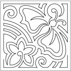 "Mola - Block #2 - Stencil (9"")"