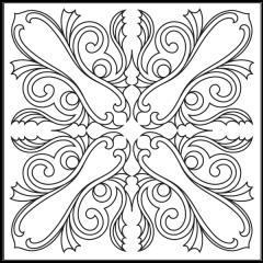 Ornamental Webs - Block #1
