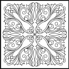 Ornamental Webs - Block #3
