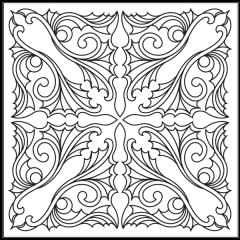 Ornamental Webs - Block #4