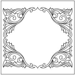 Ornamental Webs - Block #7