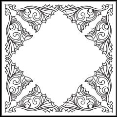 Ornamental Webs - Block #8