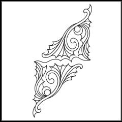 Ornamental Webs - Motif #1