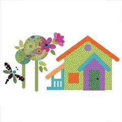 Our House - Block #8 - Applique
