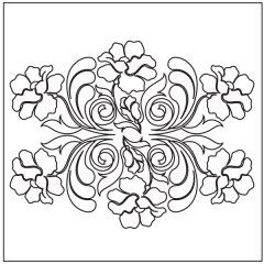 Poppy Feathers - Block #10