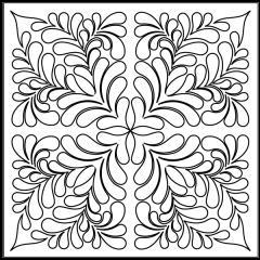 Poppy Feathers - Block #3