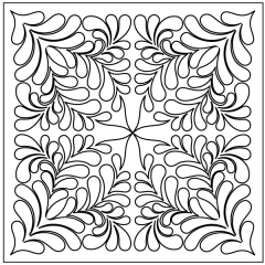Poppy Feathers - Block #4