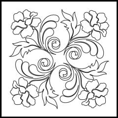 Poppy Feathers - Block #8