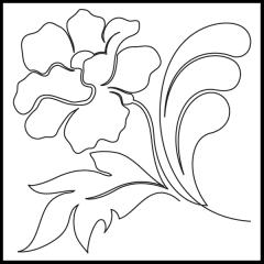 Poppy Feathers - Motif #1