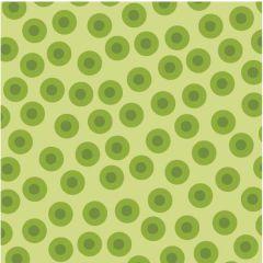 Lily's Garden - Dot Toss - Green - RJR Fabrics