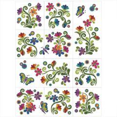 Radiant Garden - 4 Seasons - 10 Block - Applique Quilt
