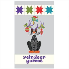 Reindeer Games - Quilt - Applique and Pattern Set