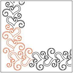 Ribbon Romance - Petite - Corner