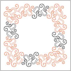 Ribbon Romance - Petite - Panto/Corner Layout
