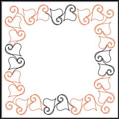Ribbon Romance - Sashing - Panto/Corner Layout