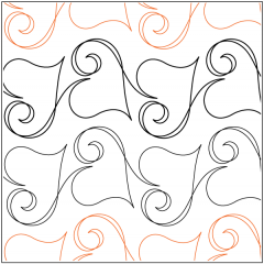 Ribbon Romance - Sashing - Pantograph