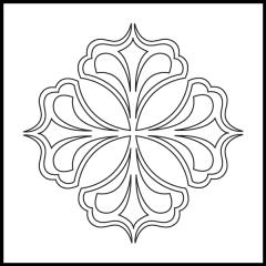 Royal Fleur De Lis - Block #2