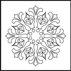 Royal Fleur De Lis - Block #8