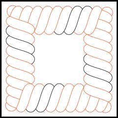S - Rope - Panto/Corner Layout