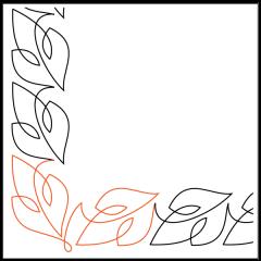 Simple Loopy Leaves #1 - Corner