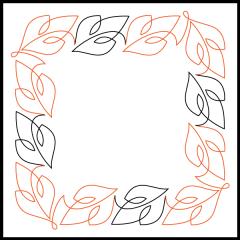 Simple Loopy Leaves #1 - Panto/Corner Layout