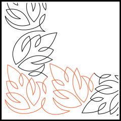 Simple Loopy Leaves #2 - Corner