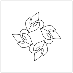 Simple Loopy Leaves - Block #3