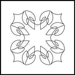 Simple Loopy Leaves - Block #4