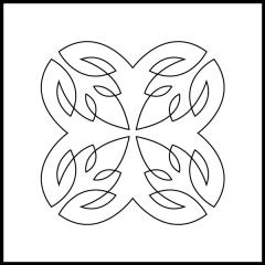 Simple Loopy Leaves - Block #7