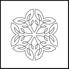 Simple Loopy Leaves - Block #9