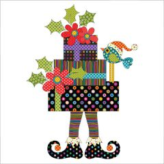 Santa's Little Helpers - Elf - Special Delivery - Applique