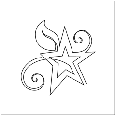 Starry Night - Motif