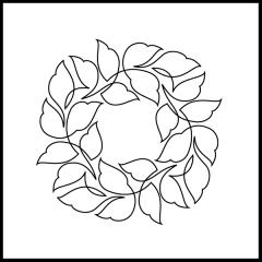 Wavy Leaves - Block #1