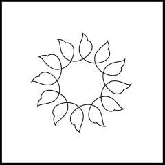 Wavy Leaves - Block #2