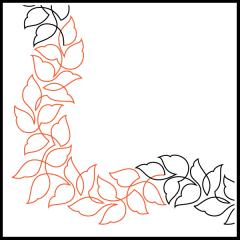 Wavy Leaves - Corner
