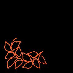 Wavy Leaves - Petite - Corner