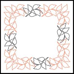 Wavy Leaves - Petite - Panto/Corner Layout